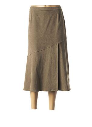 Jupe longue vert KARTING pour femme