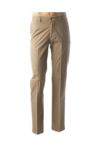 Pantalon casual beige HAROLD pour homme