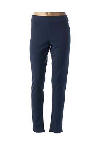 Pantalon casual bleu GENUINE pour femme
