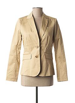 Veste casual beige CYRILLUS pour femme