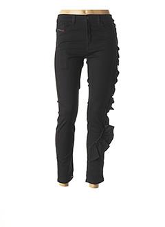 Pantalon 7/8 noir DIESEL pour femme