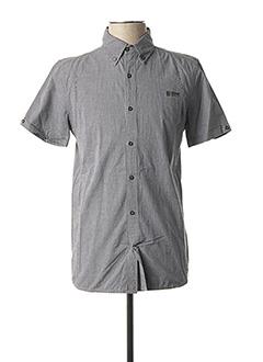 Chemise manches courtes noir REDSKINS pour homme
