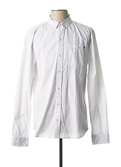 Chemise manches longues blanc DEELUXE pour homme