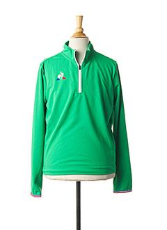 Veste casual vert LE COQ SPORTIF pour enfant