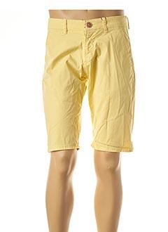Bermuda jaune STIL PARK pour homme