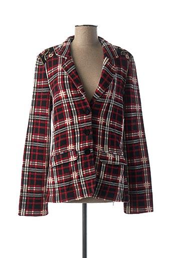Veste casual rouge ALDOMARTINS pour femme