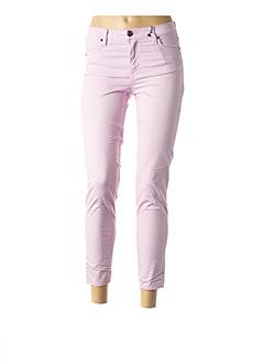 Pantalon 7/8 violet EMMA & CARO pour femme