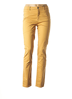 Pantalon casual orange EMMA & CARO pour femme