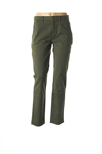Pantalon casual vert HARRIS WILSON pour femme