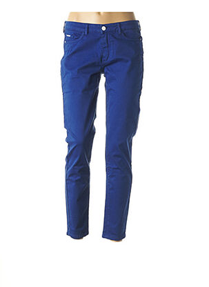 Pantalon 7/8 bleu ONE STEP pour femme