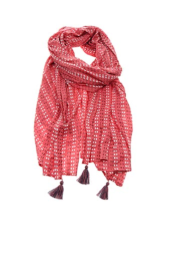 Foulard rouge INDI & COLD pour femme