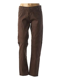 Pantalon casual marron FUEGO WOMAN pour femme