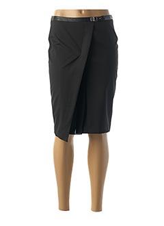 Jupe mi-longue noir TRUSSARDI JEANS pour femme