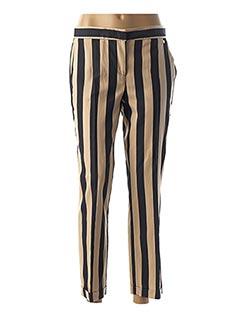 Pantalon chic beige TRUSSARDI JEANS pour femme