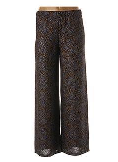 Pantalon chic bleu BLANC BOHEME pour femme