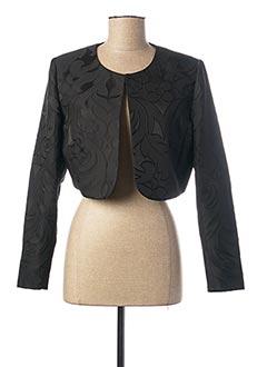 Veste casual noir PAUSE CAFE pour femme