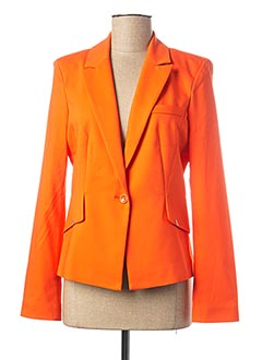 Veste casual orange EVA KAYAN pour femme