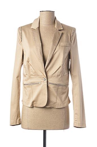 Veste casual beige EVA KAYAN pour femme