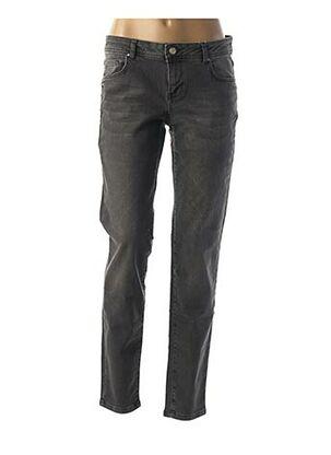 Pantalon casual gris BETTY AND CO pour femme