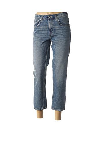 Jeans coupe droite bleu CHEAP MONDAY pour femme