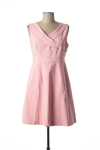 Robe courte rose VILA pour femme