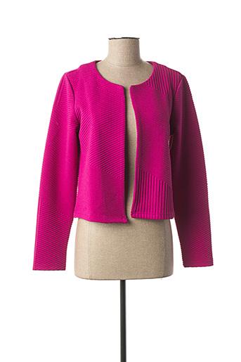 Veste casual rose VERO MODA pour femme
