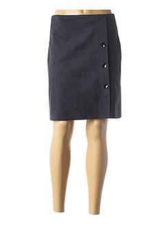 Jupe mi-longue bleu MULTIPLES pour femme
