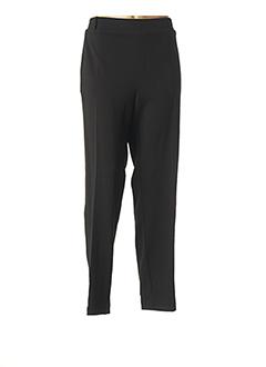 Pantalon casual noir MULTIPLES pour femme