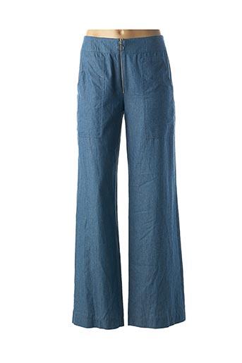 Pantalon casual bleu MULTIPLES pour femme
