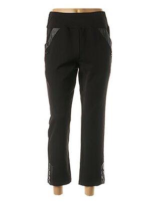 Pantalon 7/8 noir MULTIPLES pour femme