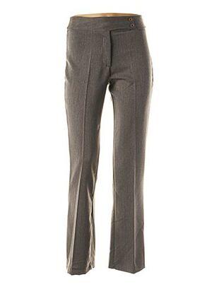 Pantalon chic gris MULTIPLES pour femme