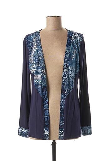Veste casual bleu MULTIPLES pour femme