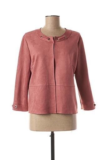 Veste casual rose MULTIPLES pour femme