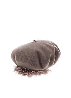 Chapeau marron LAULHÈRE pour femme