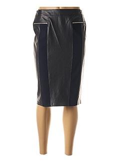 Jupe mi-longue bleu BASLER pour femme