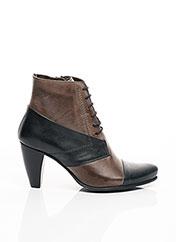 Bottines/Boots marron FIDJI pour fille seconde vue