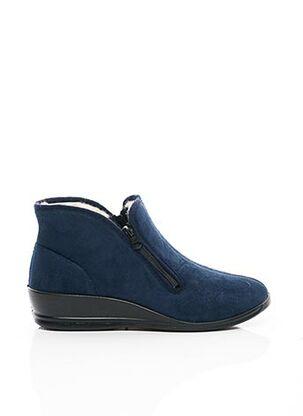 Chaussons/Pantoufles bleu FLORETT pour femme