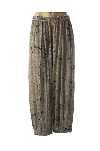 Pantalon casual gris GRIZAS pour femme