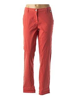 Pantalon casual orange CECIL pour femme