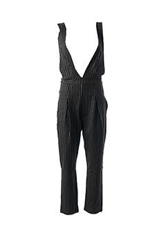 Combi-pantalon noir LOLA MORETTI pour femme