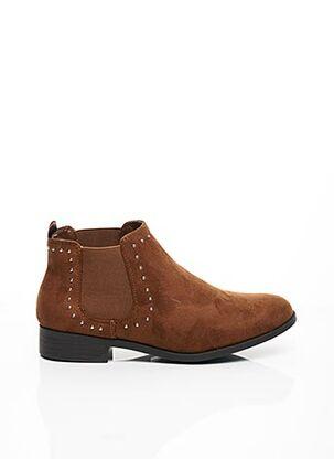 Bottines/Boots marron C'M PARIS pour femme