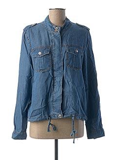 Veste casual bleu GEISHA pour femme