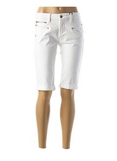 Produit-Shorts / Bermudas-Femme-FREEMAN T.PORTER