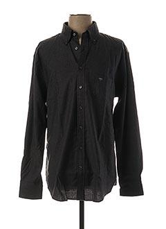 Chemise manches longues gris FYNCH-HATTON pour homme
