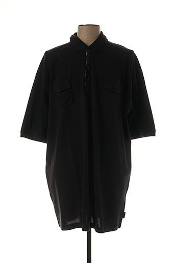 Polo manches courtes noir PELO pour homme