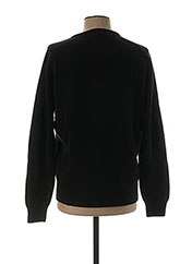 Pull col V noir STOZZI ADRIANO pour homme seconde vue