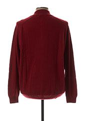 Pull col cheminée rouge STOZZI ADRIANO pour homme seconde vue