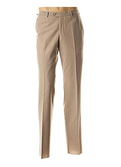 Pantalon chic beige STOZZI ADRIANO pour homme