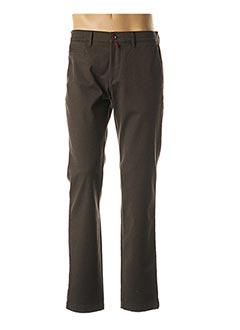 Pantalon chic marron PIERRE CARDIN pour homme