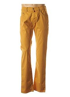 Pantalon casual jaune PIERRE CARDIN pour homme